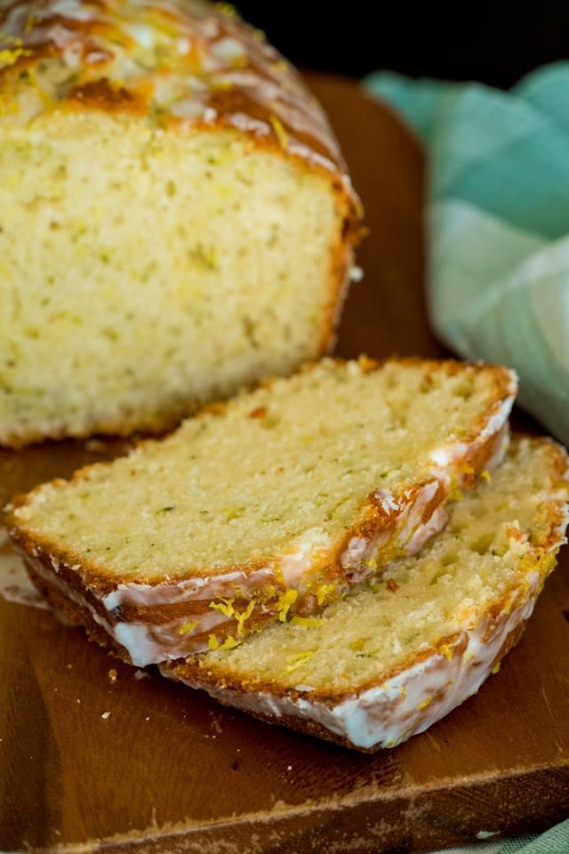 greek yogurt lemon zucchini bread  99easyrecipes