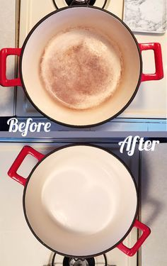 How To Clean Burnt On Stains Off Enameled Cookware