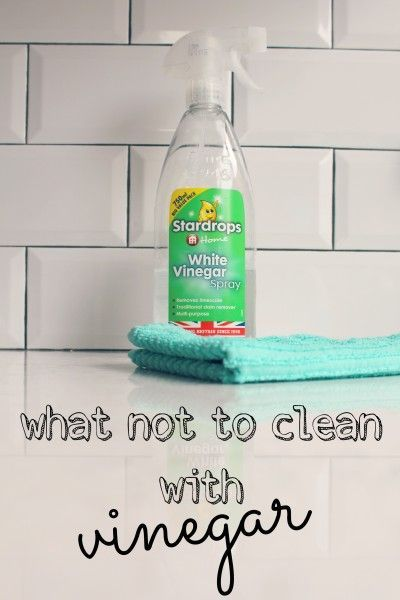What Not To Clean With Vinegar 99easyrecipes